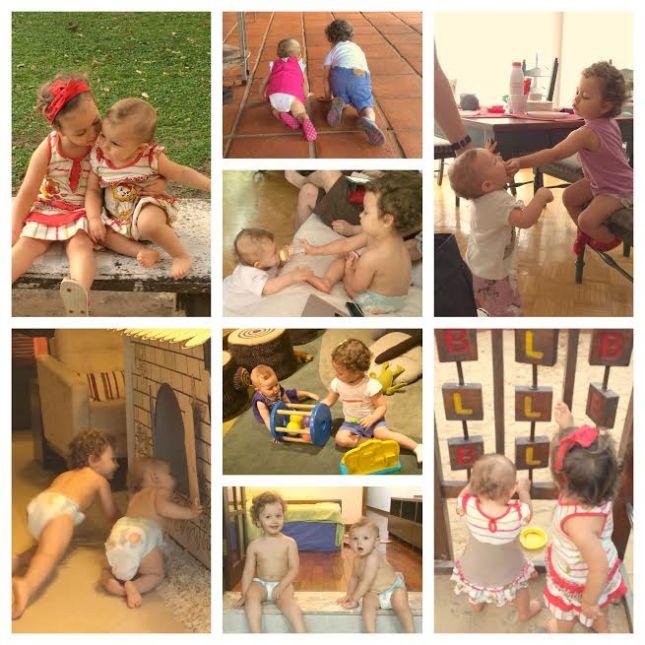 Meninas brincando juntas
