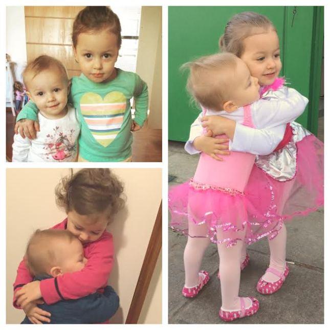 Abraços meninas