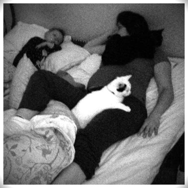 Dormindo soterrada 2